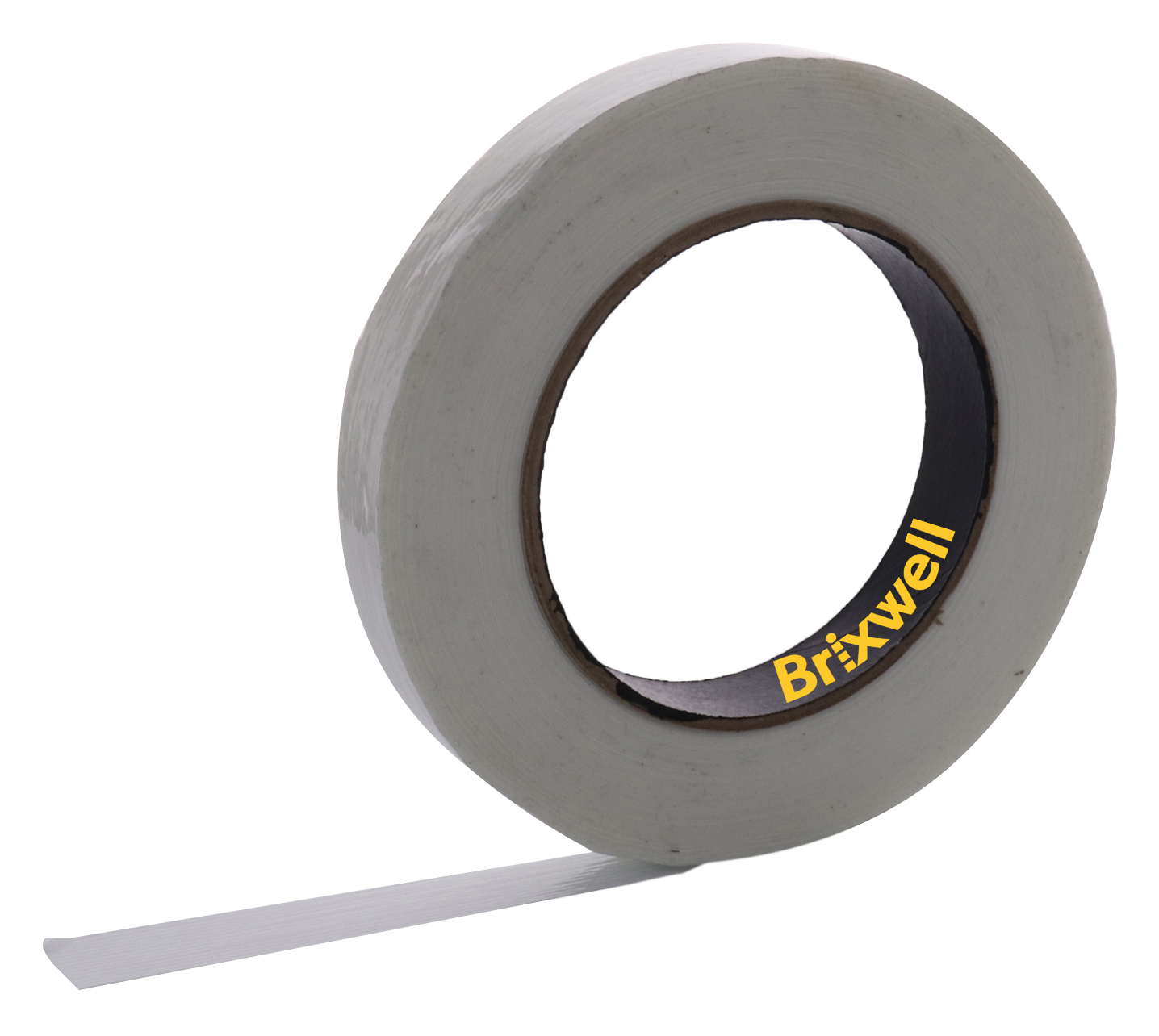 Brixwell FST10060C-XCP4 4 Rolls Clear Filament Strapping Tape 1 Inch x 60 Yard Made in the USA
