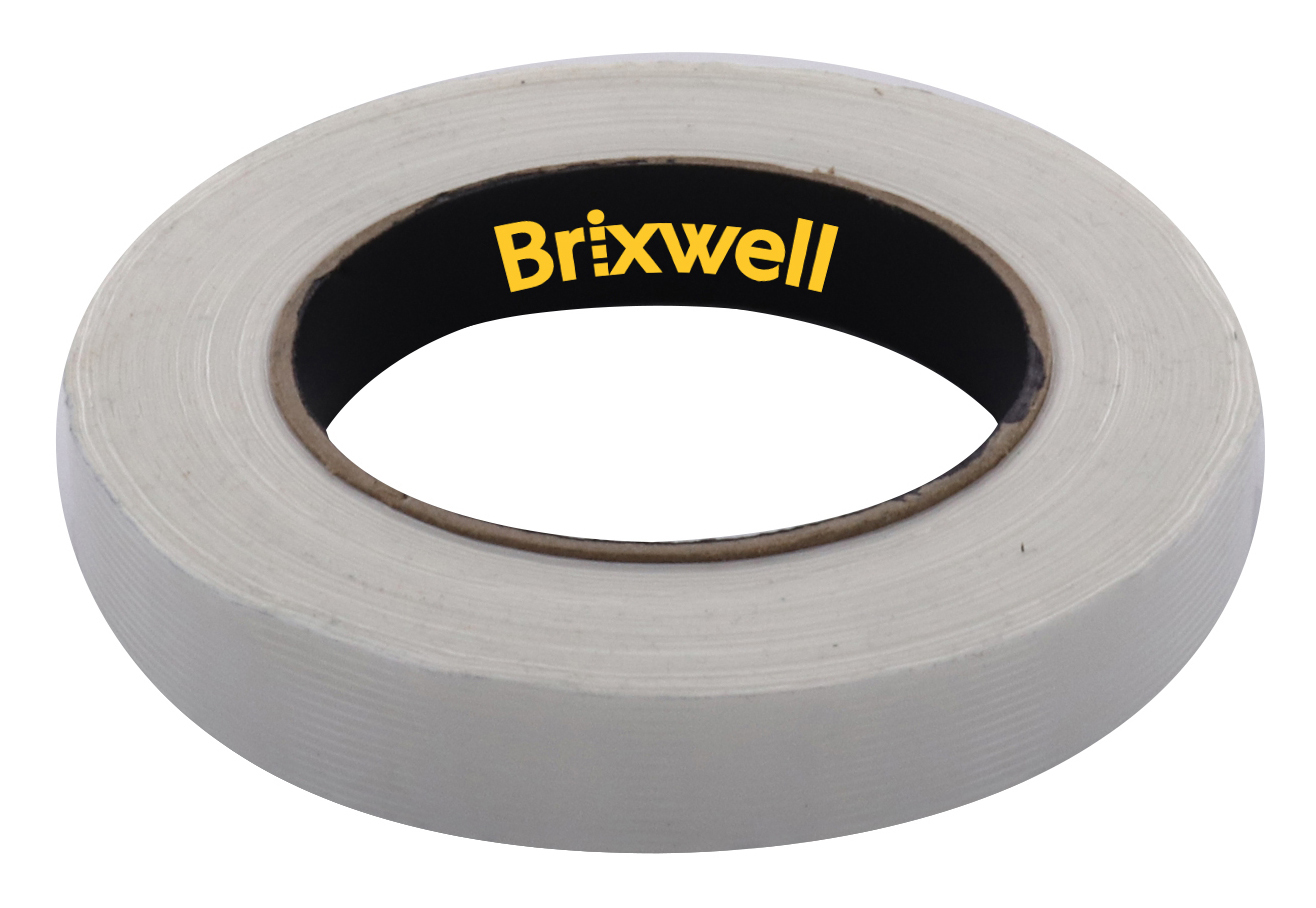 Clear Filament Strapping Tape 1 Inch x 60 Yard Made in the USA Brixwell FST10060C-XCP12 12 Rolls