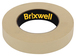 Brixwell DKH100002-XCP4 4 Rolls - Pro Grade General Purpose Masking Tan Tape 0.94 Inch x 60 Yard Made in the USA