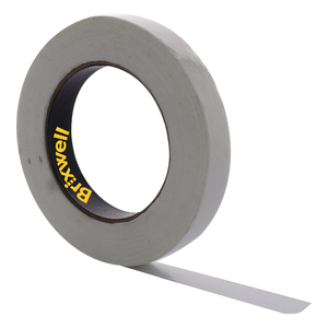 Brixwell DKH100004-XCP12 12 Rolls - Clear Filament Strapping Tape 3/4 Inch x 60 Yard Made in the USA
