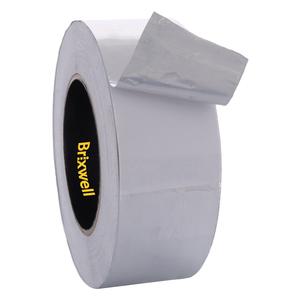 Brixwell AFT20050 Aluminum Foil Tape 2 Inch x 50 Yards Multi-Purpose Professional Grade Made in USA
