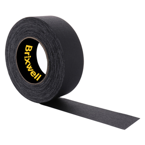 Gaffer Tape Matte Black Professional Grade 2 Inch x 55 Yards Heavy Duty Gaffers Tape Non-Reflective Multipurpose Made in the USA