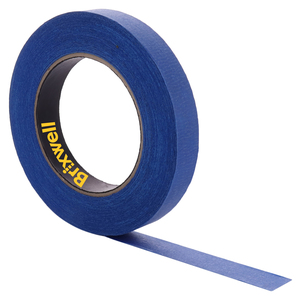 Brixwell PT03460B Pro Blue Painters Masking Tape 3/4 Inch x 60 Yard Made in the USA