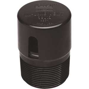 Oatey 39012 1-1/2 in. ABS PTC In-Line Round Trap Bend Cheater Vent