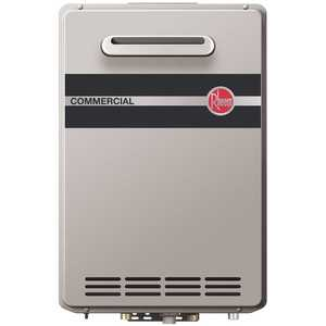 Paloma Industries RTGH-C95XLN Rheem Commercial 9.5 GPM Natural Gas High Efficiency Outdoor Tankless Water Heater