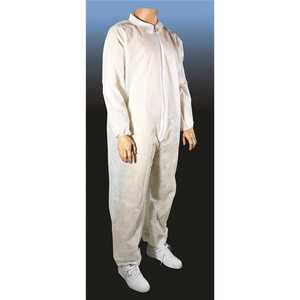 CELLUCAP MANUFACTURING 55840L Disposable Spunbond Polypropylene Coverall - pack of 25