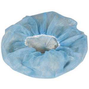CELLUCAP MANUFACTURING BIX4HSBL Blue Bouffant Cap - pack of 1000