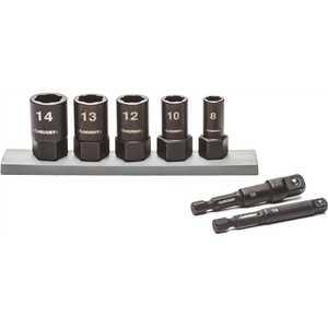 Apex Tool Group HXTRAC7PCMM Husky Metric Dual Direction Extraction Socket Set