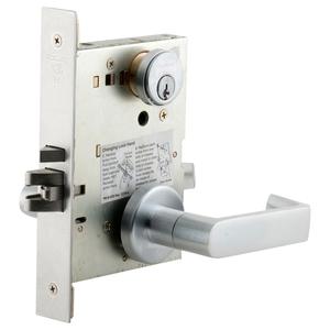 Schlage L9456LB RH 134 Corridor Mortise Lock with Deadbolt, Lock Body Only