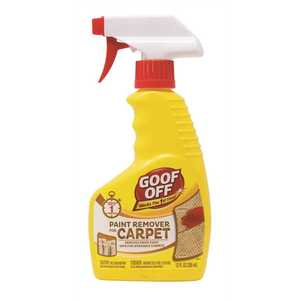 Goof Off FG910 Goof Off 12 oz. Paint Remover for Carpet