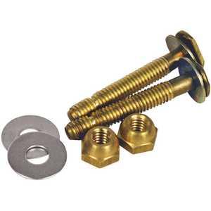 HERCULES 90124 Johni-Bolts 5/16 in. x 2-1/4 in. Brass Closet Bolts
