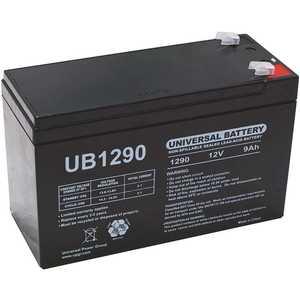 UPG UB1290 12-Volt 9 Ah F1 Terminal Sealed Lead Acid (SLA) AGM Rechargeable Battery