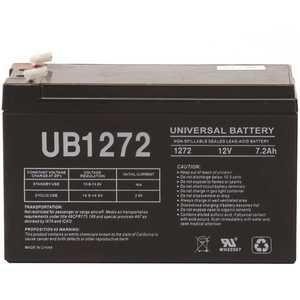 UPG UB1272 12-Volt 7.2 Ah F1 Terminal Sealed Lead Acid (SLA) AGM Rechargeable Battery