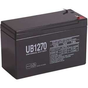 Universal Power Group 40800 UPG 12-Volt 7 Ah F1 Terminal Sealed Lead Acid (SLA) AGM Rechargeable Battery