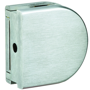 US Horizon C-ZCLAMP-BS Z-Series Wall Mount Glass Clip Brushed Stainless Steel