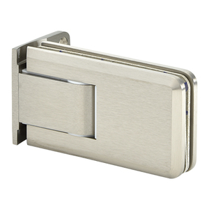 Crown Series Wall Mount Hinge With Offset Back Plate Satin-Nickel