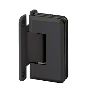 "U.S. Horizon Mfg., Inc. H-MBGTWA-FP-MB Wall Mount with ""H"" Back Plate Adjustable Majestic Series Hinge Matte Black"