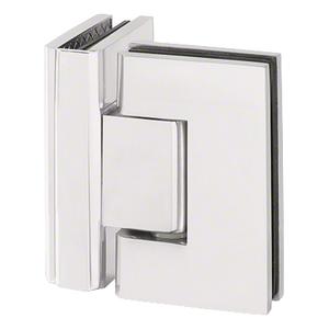 U.S. Horizon Mfg., Inc. H90GTGSA Designer Series Glass To Glass Door Hinge 90 Degree Satine