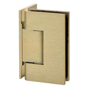 U.S. Horizon Mfg., Inc. HGTW0PAB Designer Series Shower Door Wall Mount Hinge With Offset Back Plate Antique Brass