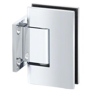 U.S. Horizon Mfg., Inc. HGTWC Designer Series Shower Door Wall Mount Hinge With Short Back Plate Polished Chrome