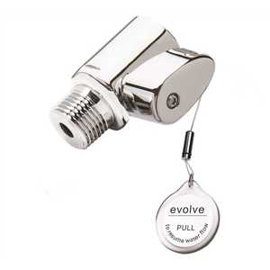 Evolve Technologies EV1003CP-SB Evolve ShowerStart TSV3 Thermostatic Valve-Hot Water Saver