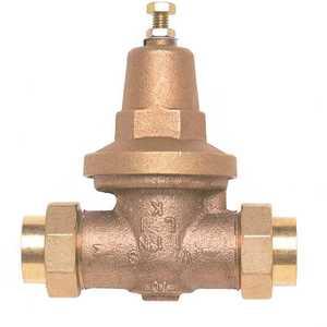 Zurn 1-70XLDU 1 in. Brass Water Pressure-Reducing Double-Union FNPT Valve