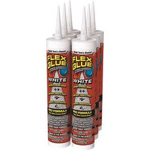 Swift Response GFSTANR10-CS FLEX SEAL FAMILY OF PRODUCTS Flex Glue White 10 oz. Pro-Formula Strong Rubberized Waterproof Adhesive - pack of 4