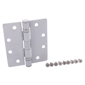"CRL DH70911 Aluminum 4-1/2"" x 4"" Standard Weight Ball Bearing Hinge"