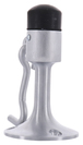 CRL DL2531A Satin Chrome Wall Mounted Heavy-Duty Door Stop with Hook and Holder