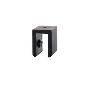 CRL FA100RB Oil Rubbed Bronze Small Square Interior Shelf Clamp