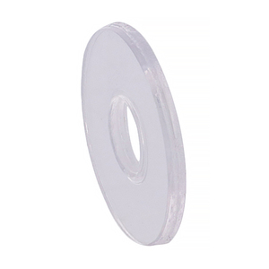 "CRL HW058-XCP10 CRL Clear 3/4"" Vinyl Replacement Washer for 3/4"" Standoff Cap Assembly - pack of 10"