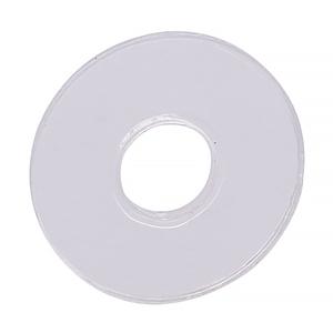 "CRL HW058 3/4"" Diameter Clear Vinyl Replacement Washer"