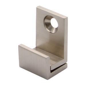 "CRL MC01BN Brushed Nickel 5/8"" Wide Mirror Clip Set"