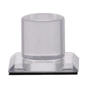 CRL MKC1 Clear Acrylic Stick-On Mirror Knob