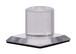 CRL MKC1 Clear Acrylic Stick-On Mirror Knob