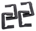 CRL P1NGASK Black Gasket Replacement Kit for Pinnacle Hinges