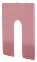 "CRL PHS38 Red 1/8"" x 4"" Jumbo Size Plastic Horseshoe Shims"