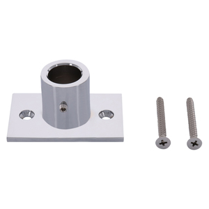 CRL S14CH Chrome Wall Mount Top Fitting