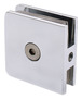 CRL UC77CH Polished Chrome Traditional Style Fixed Panel U-Clamp