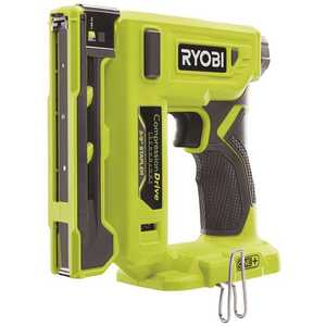 Techtronic Industries Co. P317 RYOBI 18-Volt ONE+ Cordless Compression Drive 3/8 in. Crown Stapler (Tool Only)