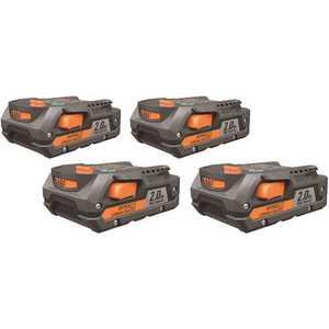 Techtronic Industries Co. AC840086SB4 RIDGID 18-Volt 2.0 Ah Lithium-Ion Battery