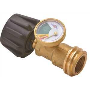 YSN Imports YSN-212B Flame King Propane Gas Meter Gauge Level Indicator with Glow-in-the-Dark Dial