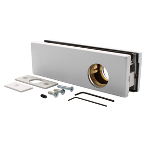 CRL AMR205A Satin Anodized AMR Series Patch Lock