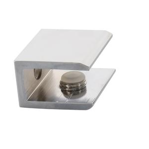 CRL FA10CH Polished Chrome Small Square Interior Shelf Clamp