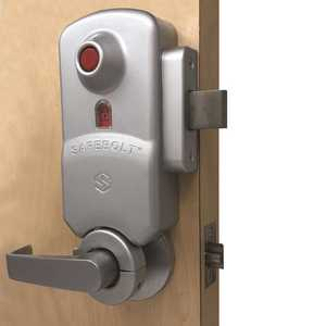 Securitech SB175-LC-RH SAFEBOLT Instant Lockdown Lock for 1.75 in. Thick Right Hand Door