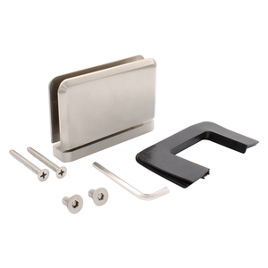 CRL PPH01BN Brushed Nickel Prima 01 Series Top or Bottom Mount Hinge