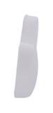 CRL SC91F40 White Flat Large Snap Cap Screw Covers