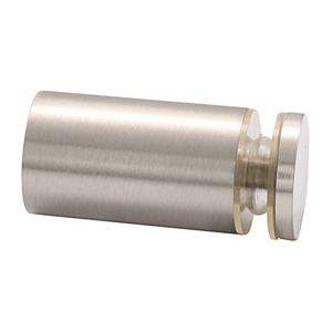CRL SDK212BN Brushed Nickel Cylinder Style Single-Sided Shower Door Knob