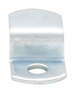 """CRL Z44-XCP100 CRL Zinc Plated Offset Mirror Clip for 1/4"""" Glass - pack of 100"""