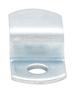 "CRL Z44 Zinc Plated Offset Mirror Clip for 1/4"" Glass"